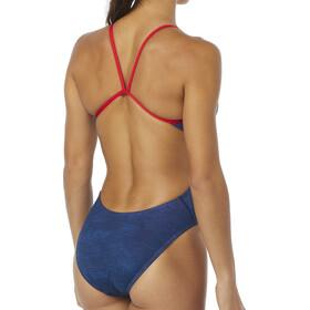 TYR Sandblasted Cutoutfit Swimsuit Women navy